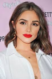 daily beauty buzz olivia culpo s clic red lipstick olivia culpo s perfect eyeliner and glossy