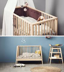 small nursery furniture. This Transitional Modern Nursery Furniture Is Baby Cot That Transforms Into A Small Day Bed Or