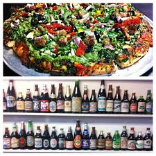 individual artisan style pizzas and salads mod pizza