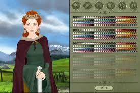 meval woman dress up game screen shot 1