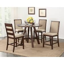 dining room table height. chandeleur 5 piece counter height dining set room table e