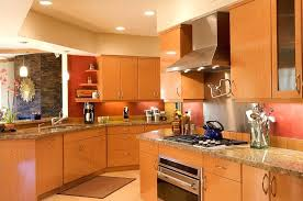 natural maple cabinets with black granite countertops modern remodeled kitchen with maple kitchen cabinets by elan