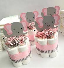 pink and gray baby shower centerpieces items similar to pink gray baby shower decorations