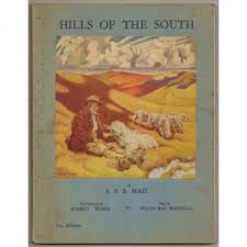 Hills of the South, by S. P.B. Mais; Paintings by Audrey Weber; Maps by  Helen Ray Marshall.