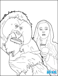 War Apes Coloring Page You Can