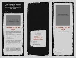 Blank Pamphlet Template Word Wonderful Of Blank Tri Fold Brochure Template Word Vector Sample 22