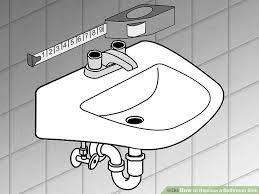 image titled replace a bathroom sink step 1