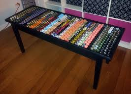 bottle cap furniture. Bottle-cap-table-7 Bottle Cap Furniture