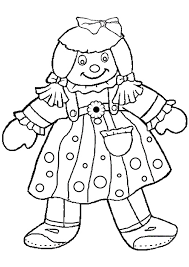 Small Picture Baby Doll Kids Coloring Pages doll coloring pages isrs2011