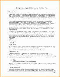 Executive Summary In Resume Magnificent Executive Summary For A Business Plan Resume Example Awesome 48