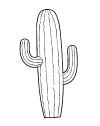 Small Picture Drawn cactus coloring page Pencil and in color drawn cactus