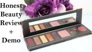 honest beauty falling for you palette review fall makeup tutorial for hooded eyes beauty beauty