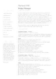 It Manager Sample Resume Infrastructure Manager Resume Example