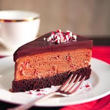 Chocolate Ice Cream Candy Cane Cake Chatelaine