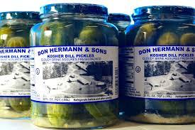 Don Hermann's Pickles: 2 Jars – Davis Bakery