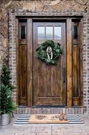 front door. Pure Woodland Inspired Front Door D