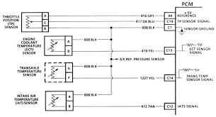 pontiac grand am l mfi dohc cyl repair guides 4 intake air temperature iat sensor wiring diagram 1994 96 3 4l and 3 8l engines