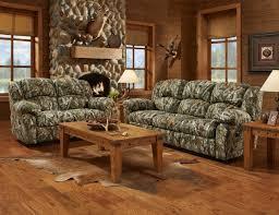 mossy oak camouflage reclining motion sofa loveseat living room furniture set