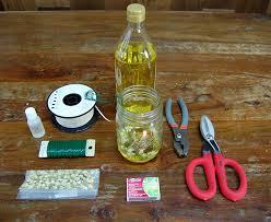 how to make a mason jar oil lamp