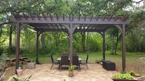 paver patio with pergola. Pergola 1 With Brick Paver Patio .