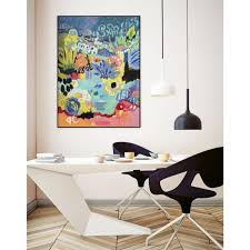 "Unbranded 16 in. x 20 in. ""Whimsical Pond III"" by Karen Fields Framed Wall  Art-WAG114350_1620CF - The Home Depot"