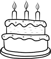 birthday cake clip art black and white. Fine White Vector And Layer Cake Clipart Black And White 7857 Favorite Throughout Birthday Clip Art P