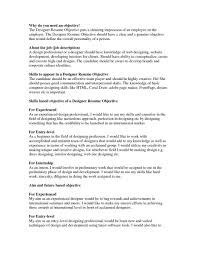 Good Objective Statement For My Resume Resume Template