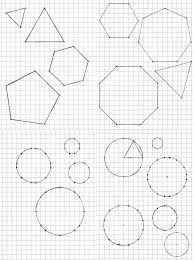 Geometry Drawing Approximated Regular Shapes On Square Grid