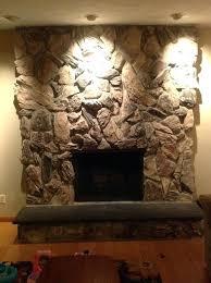 fireplace rocks gas fireplace rocks home depot