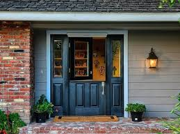 fiberglass exterior door with sidelights entry doors with single inch dutch black entry door with 2