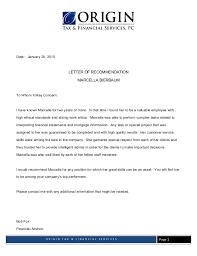 Letter Of Origin Letter Of Rec Supervisor 1 Origin