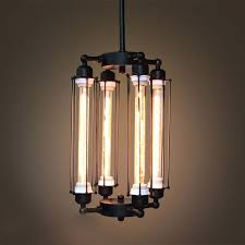 4 light caged edison bulb chandelier westmenlights touch of modern pertaining to designs 9
