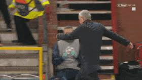 Wow, to be sacked by fecking spurs. Best Jose Mourinho Celebration Gifs Gfycat