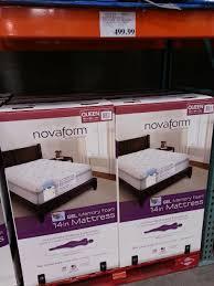 novaform comfort grande queen. pictures gallery of lovable king size mattress costco novaform comfort grande memory foam queen v