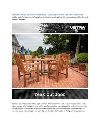 ppt patio furniture outdoor