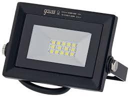 <b>Прожектор</b> светодиодный 10 Вт <b>gauss LED</b> Qplus <b>10W</b>