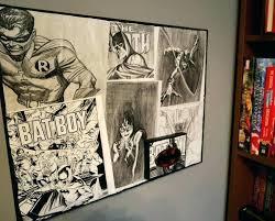 dc comic wall art creative ideas comics with best book wooden