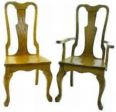 queen anne style dining room chair from dutchcrafters amish furniture