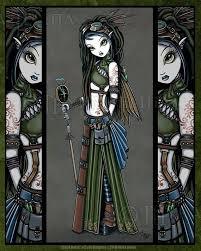 image 0   Steampunk fairy, Art, Gothic fantasy art