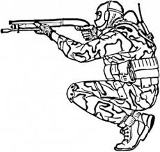 Small Picture Military Coloring Pages For Kids Printable Army Coloring Page