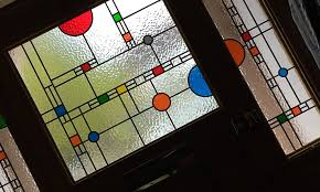 stained glass panels supplied to homes
