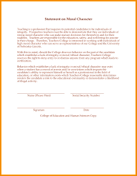 6 Sample Of Letter Of Good Moral Character Besttemplates
