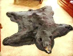 faux bear rug faux polar bear rug fake bear rug photo 6 of 6 faux bear faux bear rug