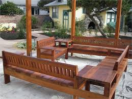 rustic wood patio furniture. Rustic Wooden Garden Furniture Beautiful Patio Ideas Solid Large And Long Diy Wood