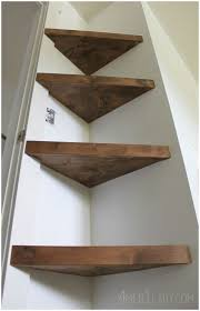 Corner Bookcase Plans Diy Corner Shelf For Closet Floating Corner Shelf Diy Corner