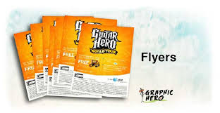 Business Flyers, Custom Flyers, Flyer Design, Gloss Flyer Printing