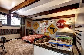 decorating your home with road signs