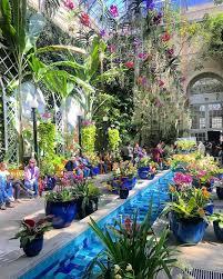 tylerkcalder atrium in the united states botanic garden free attraction on the national