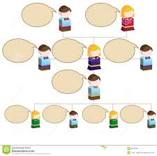 Bubble Organizational Chart Diversity Organizational Chart Stock Vector Illustration