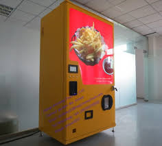 French Fries Vending Machine Enchanting Automatic Vending Machine Fried French Fries Vending Machine For